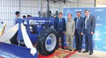 Farmtrac showroom opened in Cambodia