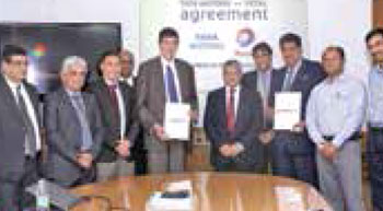 Tata Motors in global pact with Total
